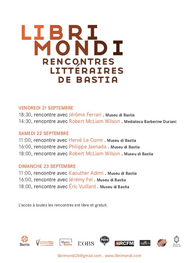 rencontres littéraires bastia