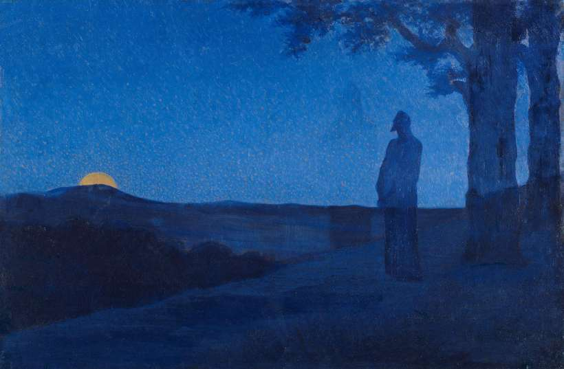 Alphonse_Osbert_-_La_Solitude_du_Christ